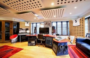 Huge music studio