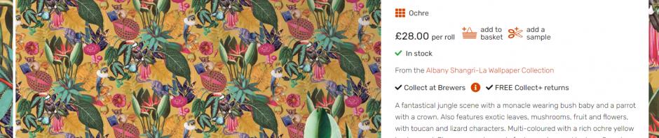 Beautiful exotic wallpaper