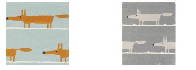 Fox rugs